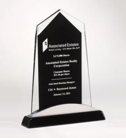 Apex Series Glass Award