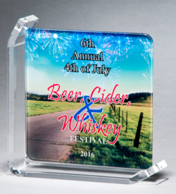 Sublimated Glass Awards