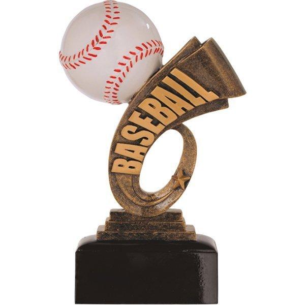 7 inch Baseball Headline Resin