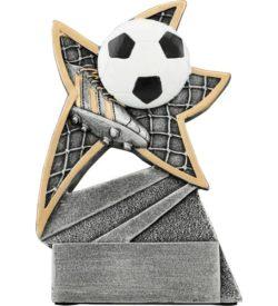 5 1/2 inch Soccer Jazz Star Resin