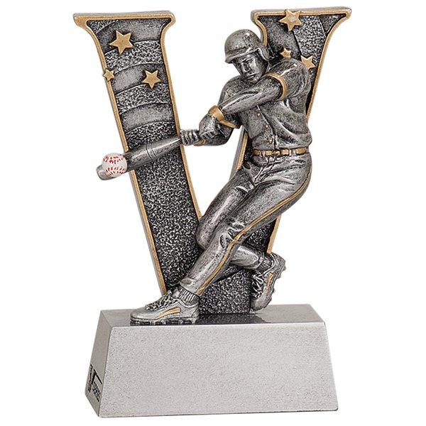 5 inch Baseball V Series Resin