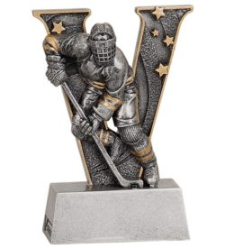 5 inch Hockey V Series Resin