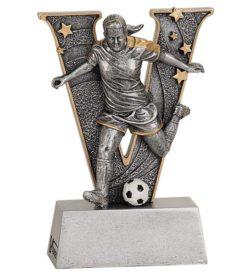 5 inch Female Soccer V Series Resin