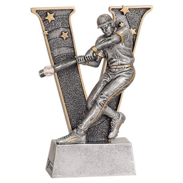 6 inch Baseball V Series Resin