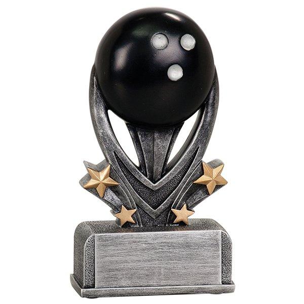 7 inch Bowling Varsity Sport Resin