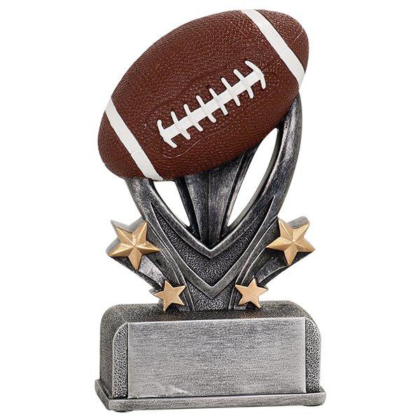 7 inch Football Varsity Sport Resin