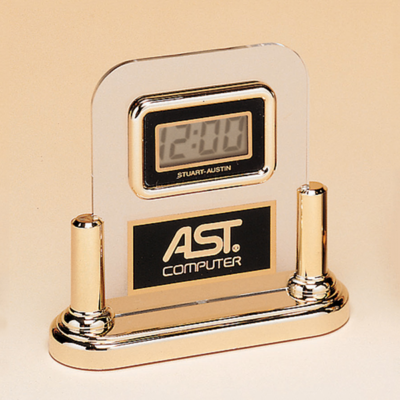 Acrylic Clock With LCD Movement
