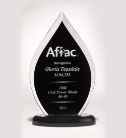 Flame Series Acrylic Award