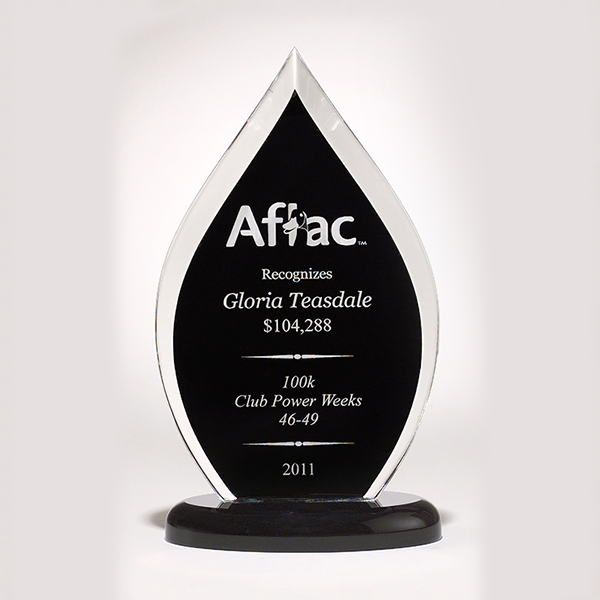 Flame Series Acrylic Award