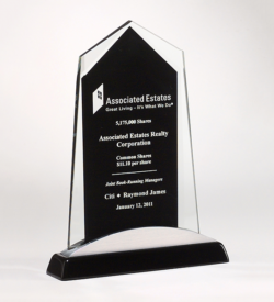 Apex Series Glass Award