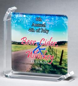 Sublimated Glass Awards