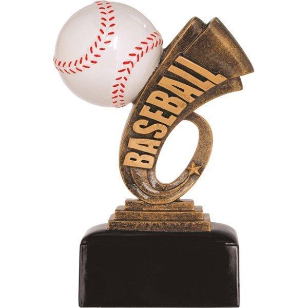 6 inch Baseball Headline Resin