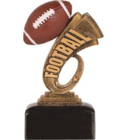 6 inch Football Headline Resin