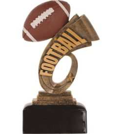 7 inch Football Headline Resin