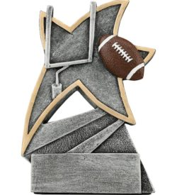 5 1/2 inch Football Jazz Star Resin