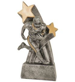 6 inch Male Football Super Star Resin