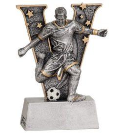 5 inch Male Soccer V Series Resin