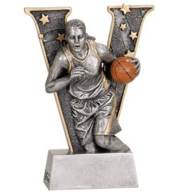 6 inch Female Basketball V Series Resin