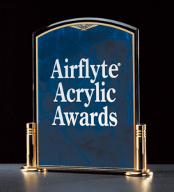 Marble Design Series Acrylic Award