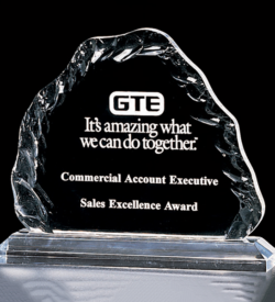 Crushed Ice Acrylic Award
