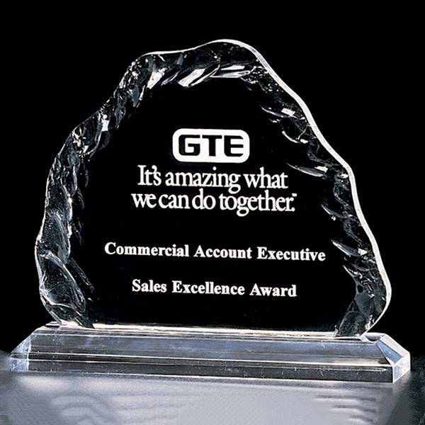 Crushed Ice Acrylic Award
