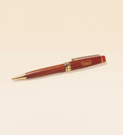 Rosewood Finish Wooden Pen