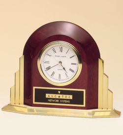 Clock supplied with lifetime guaranteed quartz movement